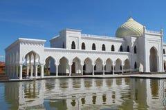 Arkada wschodnie kolumny Biały meczet, Bulgar, Rosja Obrazy Royalty Free