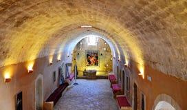 Arkadi μέσα στο μοναστήρι Στοκ εικόνα με δικαίωμα ελεύθερης χρήσης