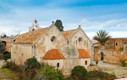 arkadi Crete Greece monaster Obraz Stock