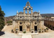 Arkadi kloster, Kreta royaltyfri bild