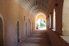 Arkadi Kloster Kreta, Griechenland Stockfotografie