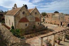 Arkadi Kloster, Moni Arkadio Lizenzfreies Stockfoto