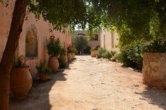 Arkadi monaster, Crete Moni Arkadiou! obrazy royalty free