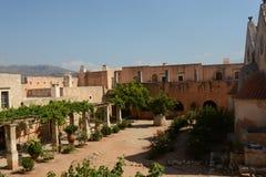 Arkadi monaster, Crete Moni Arkadiou! fotografia stock
