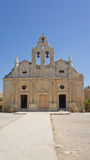 Arkadi monastery. In crete island royalty free stock image