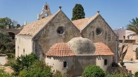 Arkadi monastery. In crete island Stock Image