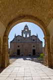 Arkadi monastery Royalty Free Stock Images