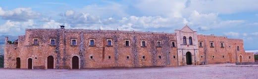 Arkadi Monastery arkivfoton