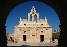 Arkadi monastery Stock Photos
