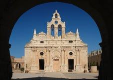 Arkadi monastery. In crete island Stock Photos