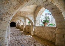 Arkadi monastery archway Stock Image