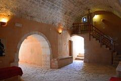 Arkadi Monastery cellar, Crete. Stock Photo