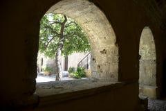 The Arkadi monastery in Crete Royalty Free Stock Photo