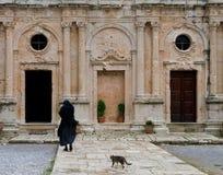 Arkadi Monastery, Crete Greece Royalty Free Stock Photography