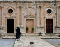 Arkadi monastery, Crete Greece Royalty Free Stock Photography