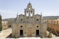 The Arkadi Monastery Stock Photography