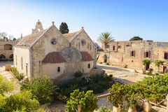 Arkadi monastery. Crete, Greece Royalty Free Stock Photo