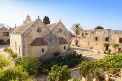 Arkadi monastery. Crete, Greece Royalty Free Stock Photo