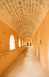 Arkadi Monastery: entrance to the cells. Stock Image