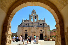Arkadi Monastery landmark Stock Photos