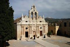 Arkadi Monastery, Moni Arkadio Stock Photos