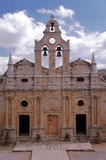 Arkadi Monastery Stock Photo