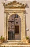 Arkadi monastery. Rethymnon Crete Island Stock Photo