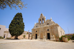 Arkadi old monastery, Crete, Greece Royalty Free Stock Image