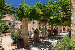 Arkadia monastery Stock Image