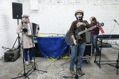Arkady Kots, concierto 12.04.2014 del garaje de Kiev Fotografía de archivo libre de regalías