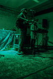 Arkady Kots, Kiev garage concert 12.04.2014 Royalty Free Stock Photos