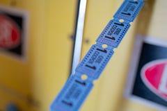 Arkady maszyny bilety obrazy royalty free