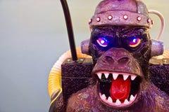 arkady włókno szklane gry potwór. zdjęcia royalty free