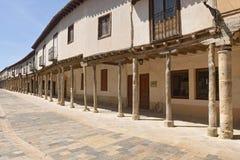 Arkady w Ampudia, Tierra De Campos, Palenciia prov Obraz Royalty Free