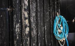 Arkana na drewnianej ścianie zdjęcia stock