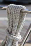 Arkana na pokładzie żeglowanie jacht Zdjęcie Royalty Free