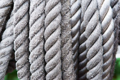 Arkana, olinowanie, arkana, sznur, cumownicza linia, dratwa, webbing, sznur Zdjęcie Royalty Free