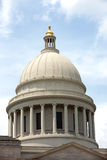 Arkansas Capital Dome. The dome on top of the Arkansas Capital building in Little Rock, Arkansas Royalty Free Stock Image
