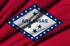 arkansas flagę Zdjęcie Royalty Free