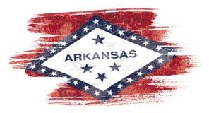 Arkansas flaga royalty ilustracja