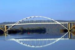 Arkansas-Fluss-Brücke Stockbilder