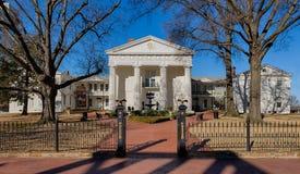 Arkansas gammalt statligt hus arkivfoton