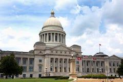 Arkansas huvudbyggnad Arkivfoton