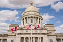 Arkansas Kapitoliumbyggnad i Little Rock royaltyfria foton