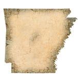 Arkansas-Karte vektor abbildung