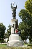 arkansas konfederata monument żołnierzy. Obrazy Stock