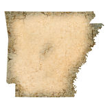 Arkansas Map Royalty Free Stock Image