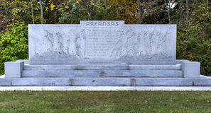 Arkansas Memorial Monument, Gettysburg, PA Stock Photos