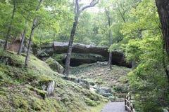 Arkansas naturlig bro 5 Fotografering för Bildbyråer