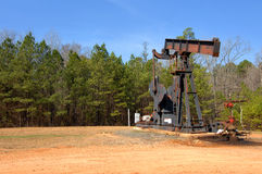 Arkansas Oil Field Stock Image
